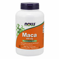 Pure Maca Root 500mg 250 Veg Capsules | Rich In Saponins | Energy Adrenal Tonic
