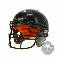 OPEN BOX Schutt Sports Recruit Hybrid Youth Football Helmet in Black - XS