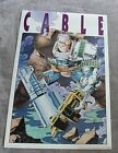 Cable 1993 Art Thibert X-Force Movie Marvel Press Comic Poster #137 VGFN