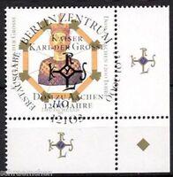 Bund 2088 , o , Eckrand mit Berliner FDC Stempel