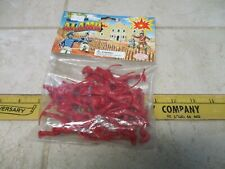 CTS Classic Toy Soldiers 1/32 54mm Plastic Playset Army Men Battle Alamo Red Mex