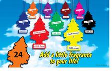 CUSTOM 24 Pack YOU CHOOSE THE Little Trees Car Freshner Air Fresheners Any Combo
