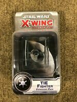 Star Wars X-Wing Miniatures Game Tie Fighter Expansion NEW Damaged Package