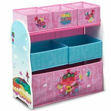Delta Children Design & Store 6 Bin Toy Storage Organizer, Trolls World Tour