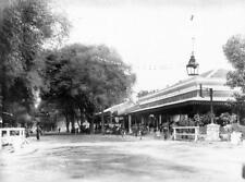 Photo. ca 1895. Bahasa, Indonesia.  Main Street in Yogyakarta