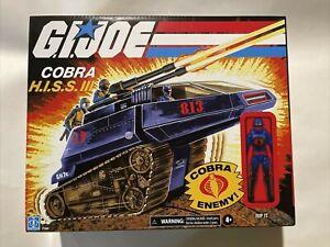GI JOE Retro Collection Cobra HISS III & RIP IT a WalMart Exclusive NIB NM