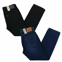 Levis 505 Flex Mens Jeans Stretch Straight Fit Denim Stonewashed 32 34 36 38 40