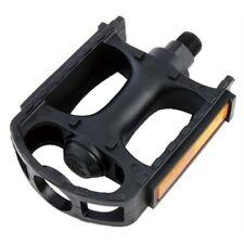 Premier 9/16 All Black Steel Cage Bike Pedals (Pair) - WE14