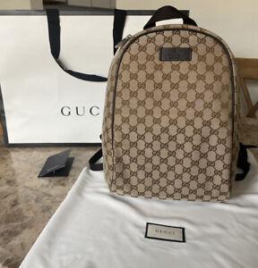 Gucci Backpack Top Zip Monogram GG - Brand New