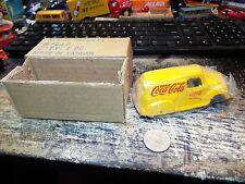 MSR IMPORTS INC DIECAST COCA COLA DELIVERY PANEL TRUCK #1647 ORIGIONAL BOX & BAG