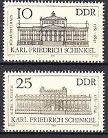 DDR 1981 Mi. Nr. 2619-2620 Postfrisch ** MNH