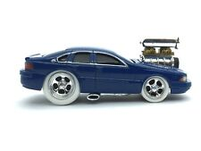 Muscle Machines 1996 96 Chevrolet Chevy Impala Blue Die Cast 1/64 Scale Loose