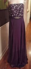 Empire Gown by Jordan Caterina Collection Purple size 10