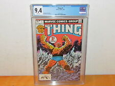 The Thing #1 - Marvel Comics 1983 - CGC 9.4 White Pages