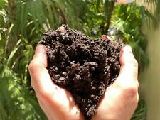 100% FRESH Organic Worm Castings. Compost. Soil. Organic Fertilizer - 200 gramm