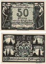 Germany 50 Pfennig 1920 Gottingen Notgeld UNC Uncirculated Banknote