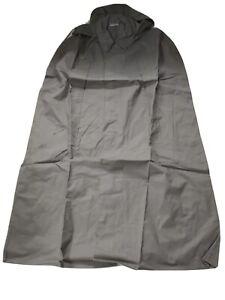 EAST GERMAN/DDR/NVA Grenztruppen lined grey hooded canvas rain poncho (Size G48)