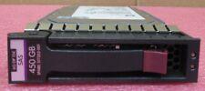 """HP 450 GB 3.5"""" SAS 6GB/s 15K Dual Port Server Hot-Plug HDD 517352-001 516816-B21"""