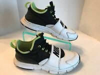 Nike Free Ace White Black Ghost Green Leather Shoes 749627-100 Men's Size 10