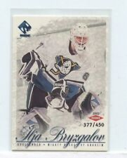 ILJA BRYZGALOV 2001-02 Pacific Private Stock Blue Rookie Card #D /450 Mighty