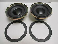 Pair Bose Acoustimass Subwoofer Woofer 6 inch Replacement Driver 111791K Working