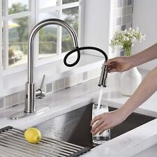 Touchless Kitchen Faucet with 2 Modes Pull Down Sprayer, Automatic Motion Sensor