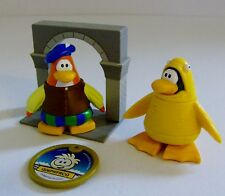 Disney Club Penguin Bard & Fish Costume Figures