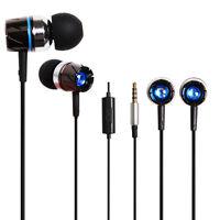 HUAST-35 Stereo Headphone With Mic In-ear Earphone for Smartphone PC MP4 Sony LG