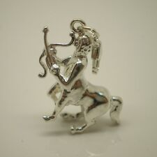 3D Centaur - Large and heavy Sterling Silver Clip on Charm