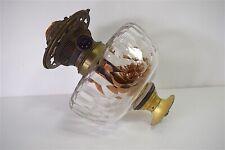 RESERVOIR MECANISME LAMPE PETROLE CRISTAL BACCARAT OIL LAMP KEROSENE