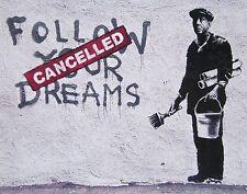Follow Your Dreams, Offset Lithograph, BANKSY