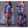 Plus Size Women Trousers Bodycon Jumpsuit Romper Short Clubwear Playsuit Dress