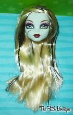 MONSTER HIGH FRANKIE STEIN SCHOOL'S SCHOOLS OUT DOLL REPLACEMENT HEAD ONLY