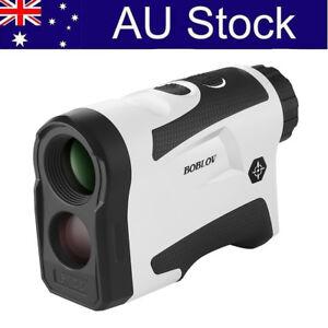 Golf Laser Range Finder 600m FLAG-LOCK Distance Height Speed Built-in 800aMh AU
