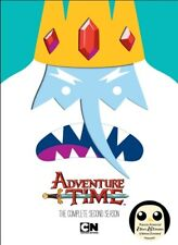 ADVENTURE TIME COMPLETE SECOND SEASON 2 New Sealed 2 DVD Set Cartoon Network