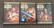 STAR WARS PREQUEL TRILOGY Episodes 1 2 & 3 (6-Disc DVD Set) Widescreen Edition