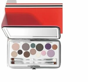 Clinique Indulge in color All about shadow palette new in case with 3 brush & ap