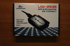 KINGWIN EZ-CONNECT USI-2535 USB 2.0 TO SATA & IDE ADAPTER
