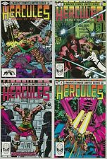 HERCULES PRINCE OF POWER COMPLETE NM- 9.0-9.6 |Limited Series Marvel Comics 1982