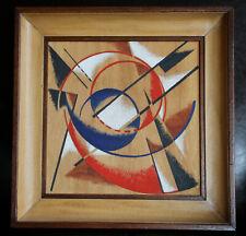 Tableau ancien cubisme avantgarde futurisme constructivisme russe
