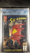 Superman #75 CBCS Graded 9.6 WHITE Pages