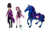 Monster High Headless Headmistress Bloodgood, Nightmare Horse & Draculaura Dolla