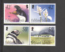 Falkland Islands 2004 Penguin/Orchid/Cormorant/House/Birds/Nature 4v set n15211