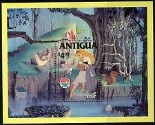 Antigua   1980   Scott #601   Mint Lightly Hinged Souvenier Sheet