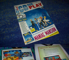 LUCASARTS Adventures Maniac Mansion RARITÄT HEFT PC kpl. DEUTSCH CD Version