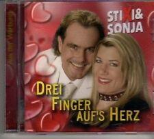 (CR108) Stixi & Sonja, Drei Finger Auf's Herz - 2006 CD
