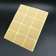 35mm Square design Kraft Blank Sealing sticker for notes gift package label 180