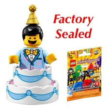 LEGO BIRTHDAY CAKE GUY ~ Sealed Series 18 Minifigure ~ IN HAND READY TO SHIP!