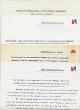 MICHAEL LANDON DEAN BUTLER LITTLE HOUSE ON THE PRAIRIE '79 NBC TV PRESS MATERIAL