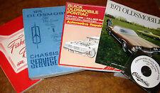1971 71 Oldsmobile Service Manuals & Parts CD 442 W30 Cutlass Supreme Hurst F-85